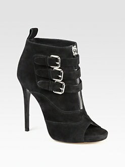 Tabitha Simmons - Eva Suede Platform Ankle Boots