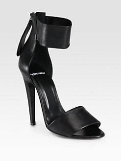 Pierre Hardy - Leather Ankle Strap Sandals