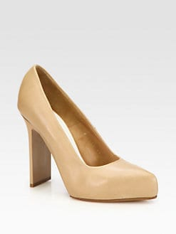 Maison Martin Margiela - Leather Platform Pumps