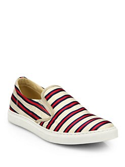 Tabitha Simmons - Huntington Grosgrain Slip-On Sneakers
