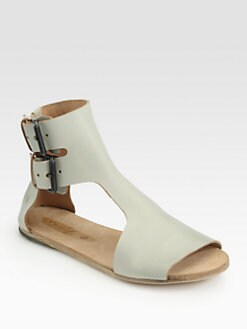 Marsell - Leather Ankle Strap Sandals