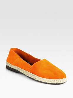 Pollini - Suede Espadrille Flats
