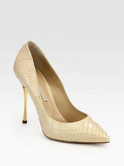 Nicholas Kirkwood - Studded Leather Pumps