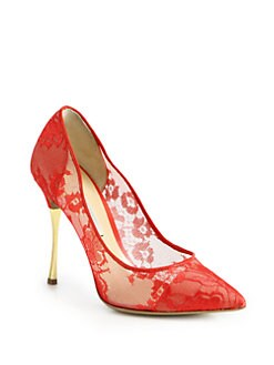 Nicholas Kirkwood - Lace Pumps