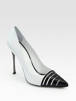 Sergio Rossi - Bicolor Leather Pumps