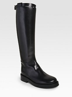 Ann Demeulemeester - Calf Wrap Equestrian Boot