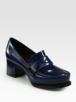 Jil Sander - Leather Loafer Pumps