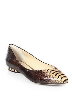 Alexandre Birman - Python Flats