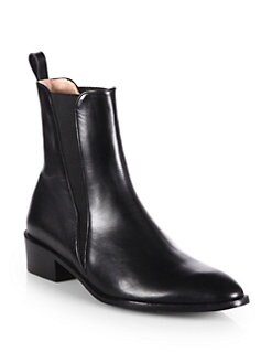 Robert Clergerie - Xavier Leather Ankle Boots