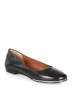 Givenchy - Leather Ballet Flats