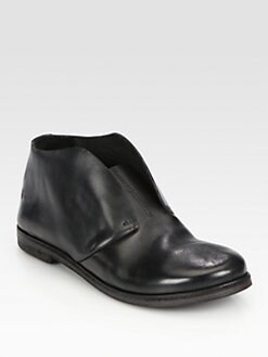 Marsell - Leather Laceless Ankle Boot