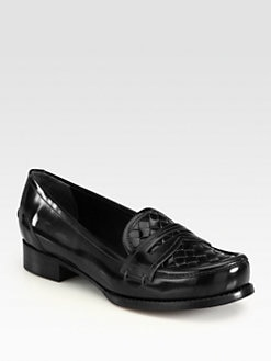 Bottega Veneta - Woven Leather Loafers