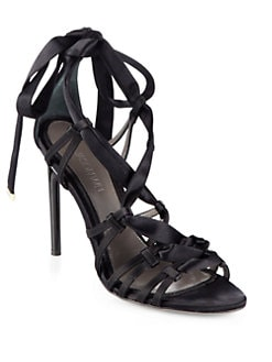 Jason Wu - Satin Strappy Sandals