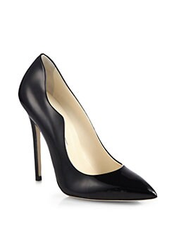 Brian Atwood - Besame Patent Leather Pumps