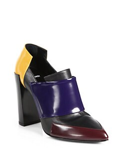 Pierre Hardy - Colorblock Leather Ankle Boots