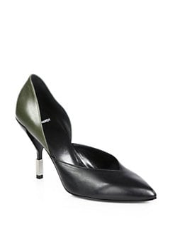 Pierre Hardy - Colorblock Leather d'Orsay Pumps