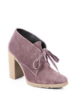 Pierre Hardy - Suede Lace-Up Ankle Boots