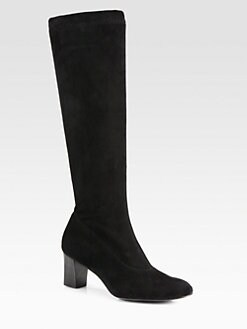 Robert Clergerie - Suede Knee-High Boots