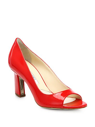 Candice Patent Leather Pumps