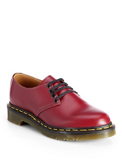 Comme des Garcons - Dr. Martens Leather Lace-Up Loafers