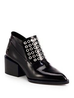 Jil Sander - Studded Leather Loafers