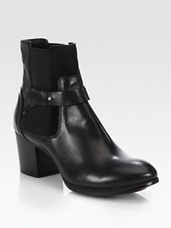 Costume National - Leather Ankle Boots