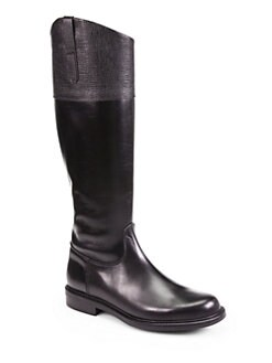 Pollini - Studded Leather Boots