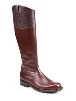 Pollini - Asymmetrical Leather Boots