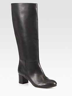 Marni - Leather Knee-High Boots