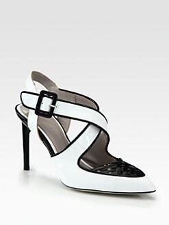 Jason Wu - Peggy Crisscross Patent Leather Pumps