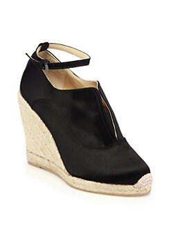Reed Krakoff - Satin Espadrille Wedge Sandals