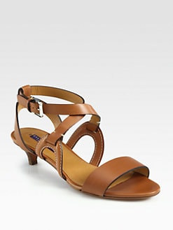 Ralph Lauren Collection - India Leather Sandals