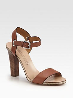 Ralph Lauren Collection - Laurissa Leather Sandals