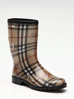Burberry - Rubber Rain Boots