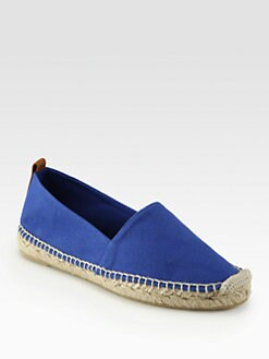 Ralph Lauren Collection - Cassy Canvas Espadrilles