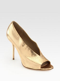 Burberry Prorsum - Haydons Snakeskin Pumps
