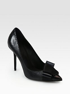 Burberry Prorsum - Fairmile Snakeskin Pumps