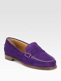 Ralph Lauren Collection - Elma Suede Loafers