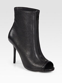 Burberry - Gloucester Zipper-Front Ankle Boots