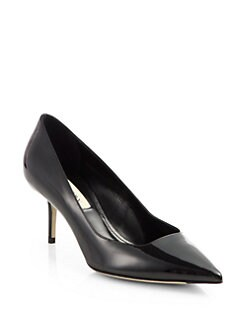 Burberry - Bower Patent Leather Pumps