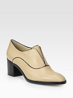 Reed Krakoff - Laceless Leather Oxfords