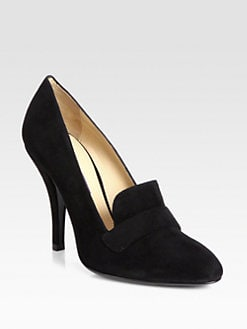Ralph Lauren Collection - Perina Suede Pumps