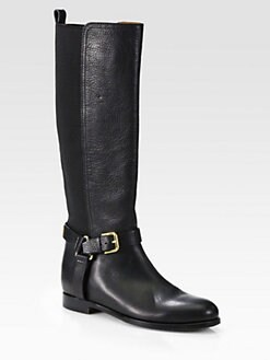 Ralph Lauren Collection - Sabeen Leather Riding Boots