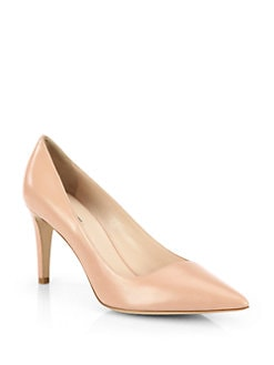Giorgio Armani - Asymmetrical Leather Pumps