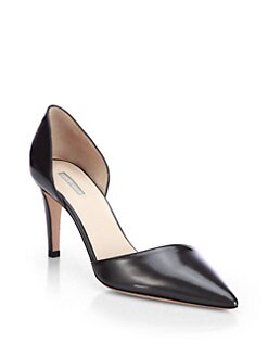 Giorgio Armani - Patent Leather d'Orsay Pumps