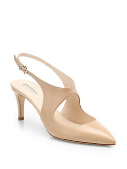 Giorgio Armani - Leather Slingback Pumps
