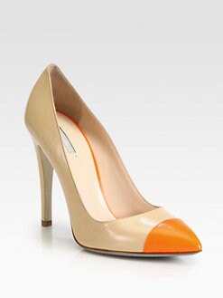 Giorgio Armani - Bicolor Leather Pumps