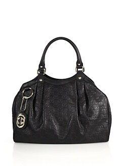 Gucci - Sukey Guccissima Medium Top Handle Bag