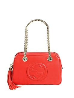 Gucci - Soho Leather Shoulder Bag