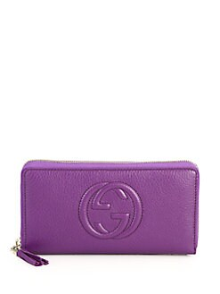 Gucci - Soho Leather Zip-Around Wallet